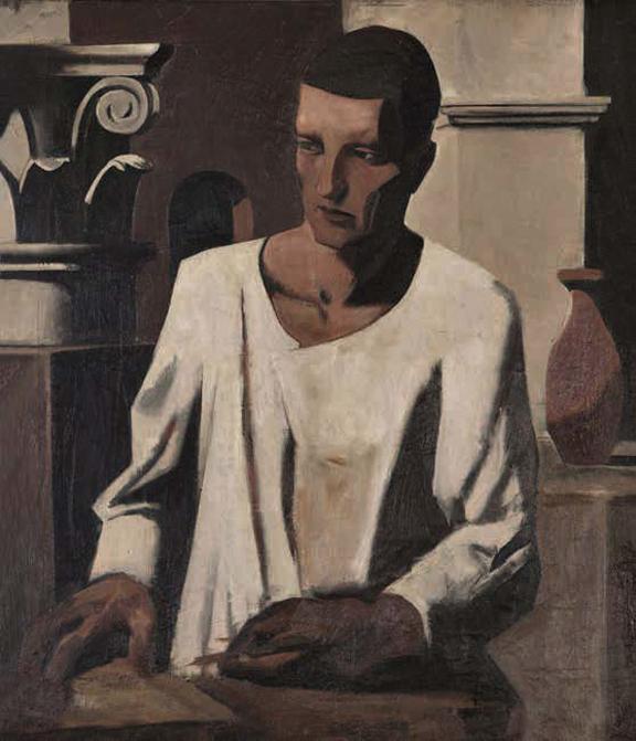 El arquitecto (1922-23) Mario Sironi